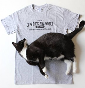 Cafe Rock and Wreck tee